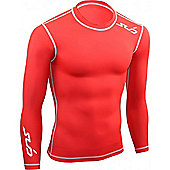 Sub Sports Dual Long Sleeve Top - Red