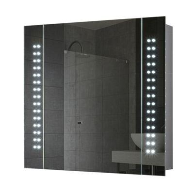 Photonic LED Illuminated Bathroom Mirror Cabinet With IP44 Battery Operation