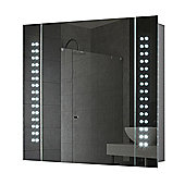 Photonic LED Illuminated Bathroom Mirror Cabinet with IP44 & Battery Operation