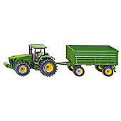 Farming - John Deere Tractor With Trailer - 1:50 Scale - Siku