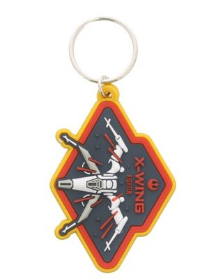 Star Wars X Wing Rubber Keyring