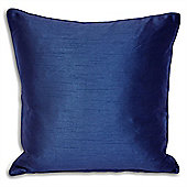 Riva Home Fiji Faux Silk Royal Blue Cushion Cover - 45x45cm