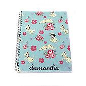 Disney 101 Dalmatians Floral Notebook
