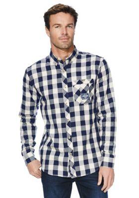 Regatta Loman Checked Shirt 2XL Blue