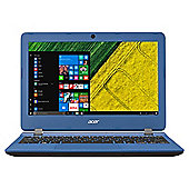 "Acer 11.6"" ES11 Intel Celeron 4GB Ram 32GB storage Blue Laptop"