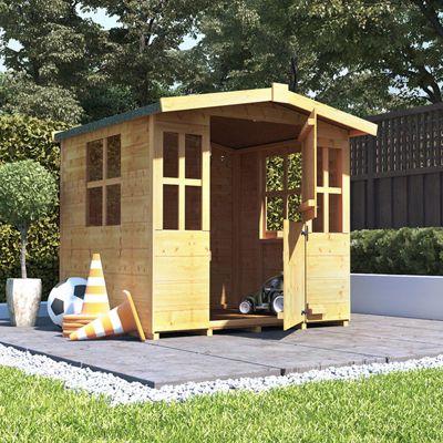 4x4 BillyOh Bunny Children Wooden Playhouse Outdoor - Premium 4ft x 4ft