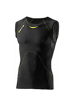 Skins A400 Active Sleeveless Top - Black