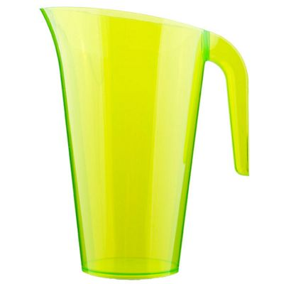 Lime Green Plastic Pitcher - 1.5L