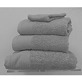Luxury Egyptian Cotton Hand Towel - Silver