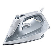 Braun-SI7088GY TexStyle 7 Pro Steam Iron with 2800W Power in Grey