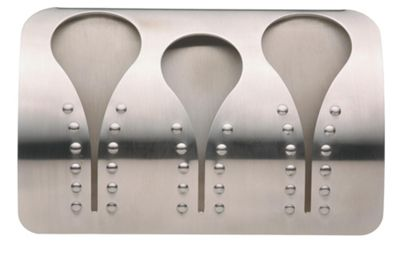 Master Class Stainless Steel Triple Towel Holder