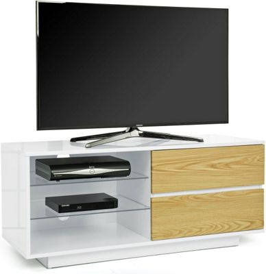 MDA Gallus White and Oak TV Cabinet