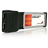 StarTech 2 Port ExpressCard 1394a FireWire Laptop Adapter Card