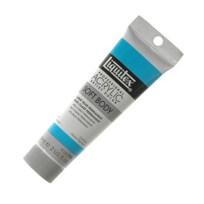 Liquitex Soft Body 59ml Tb Permanent Light Blue