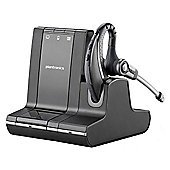 Plantronics Savi W730 Wireless DECT Mono Earset - Over-the-ear - Semi-open