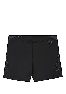 Speedo Boom Splice Aquashorts - Black