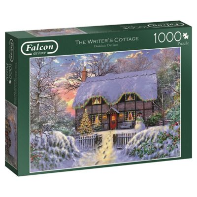 Falcon De Luxe - The Writer's Cottage Jigsaw Puzzle - 1000 Piece