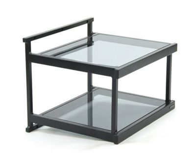 Apollo WT2SE Twin Shelf Turntable Support Black Tinted Glass