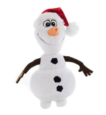 Disney Frozen Small Plush Olaf With Xmas Hat
