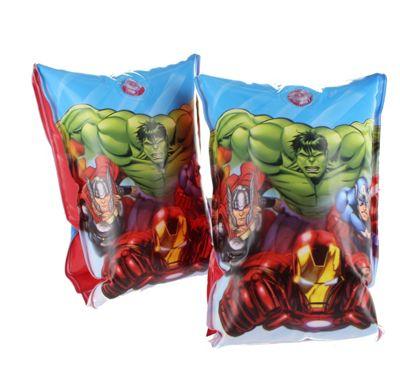 Marvel Avengers Hulk Iron Man Captain America Inflatable Swimming Armbands 3+