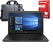 "HP 255 G5 15.6"" Laptop AMD A6-7310 Quad Core 12GB 128GB SSD Win 10 With Internet Security & Laptop Case"