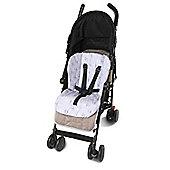 Clevamama Stroller Pushchair Highchair Bouncer Seat Liner (Pink) Reversible