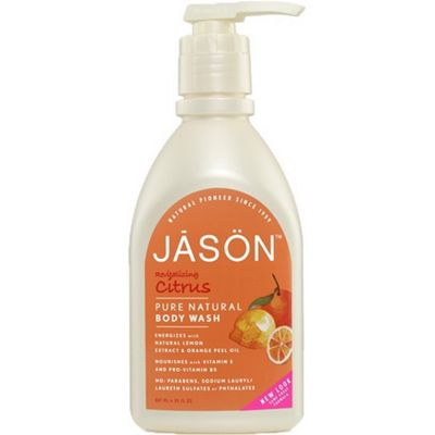 JASON NATURAL Citrus Satin Body Wash Pump Shower Gel