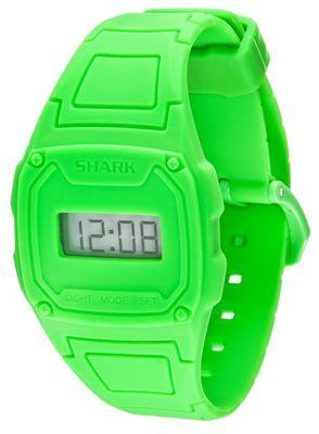 Shark Shark Slim Unisex Silicone Backlight, Date Watch 101146