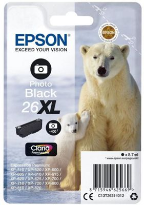 Epson Claria Premium 26XL Ink Cartridge C13T26314012