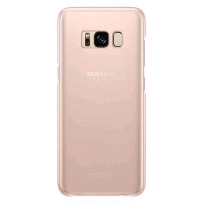Samsung Original S8 Plus Clear Phone Case Cover - Gold