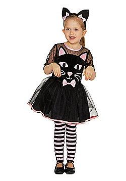 F&F Cat Halloween Costume - Black