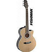 Stagg SA40 Mini Jumbo Electro Acoustic - Natural