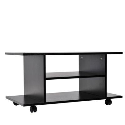 Homcom Modern TV Cabinet Stand-Black