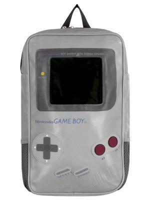 Nintendo Game Boy Shaped Grey Backpack 25x46x9cm