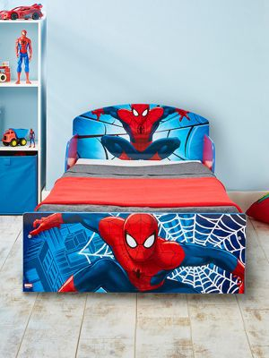 Spiderman Toddler Bed & Fully Sprung Mattress