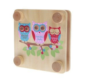 Large Owl Flower Press