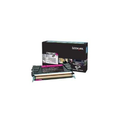 Lexmark (Magenta) High Yield Toner Cartridge (10000 Pages) for C748 Printers