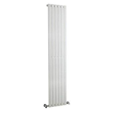 Hudson Reed Sloane Single Panel Designer Radiator White 1800mm High x 354mm Wide