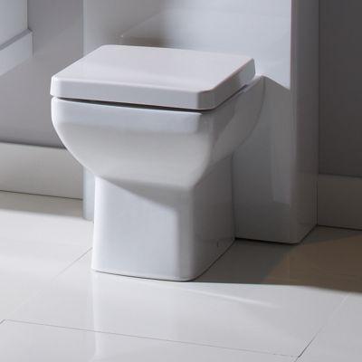 Tavistock Q60 Soft Close Toilet Seat in White