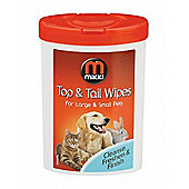 Mikki Top To Tail Wipes (17pk)