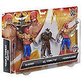 WWE  3 Figures Pack - Diego, El Torito & Fernando
