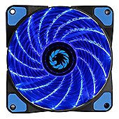Game Max Storm Force 15 X Blue Led 12cm Cooling Fan With Hydraulic Bearings