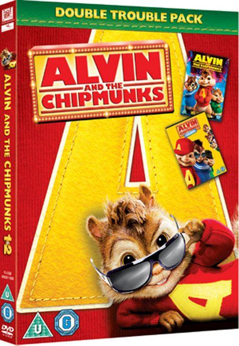 Alvin And The Chipmunks / Alvin And The Chipmunks 2 - The Squeakquel  (DVD Boxset)