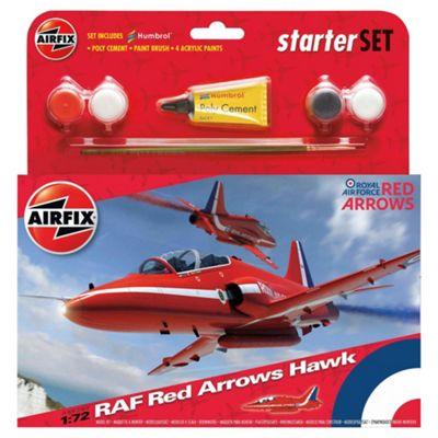 Airfix Red Arrow Hawk Starter Set