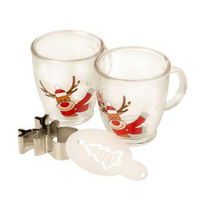 Eddingtons Festive Rudolph Cappuccino Drink Gift Set