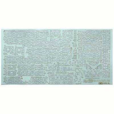Tamiya 12644 Elefant Zimmerit Sticker Coating Sheet 1:35 Military Model Kit
