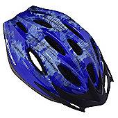Ammaco 14 Vent Mountain Bike Helmet Blue 54-59cm