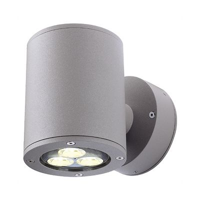 Sitra Wall Up-Down Wall Lamp Light Stone Grey Max. 2X9W