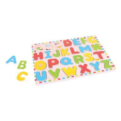 Bigjigs Toys Inset Puzzle Uppercase Alphabet
