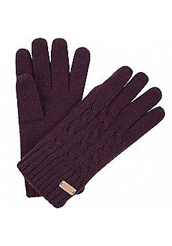 Regatta Ladies Multimix Gloves - Purple